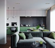 , Interior Design Using Pink And Green: 3 Examples To Help You Pull It Off