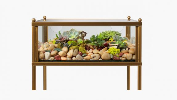 Product Of The Week: A Side Table With Built-in Terrarium Display