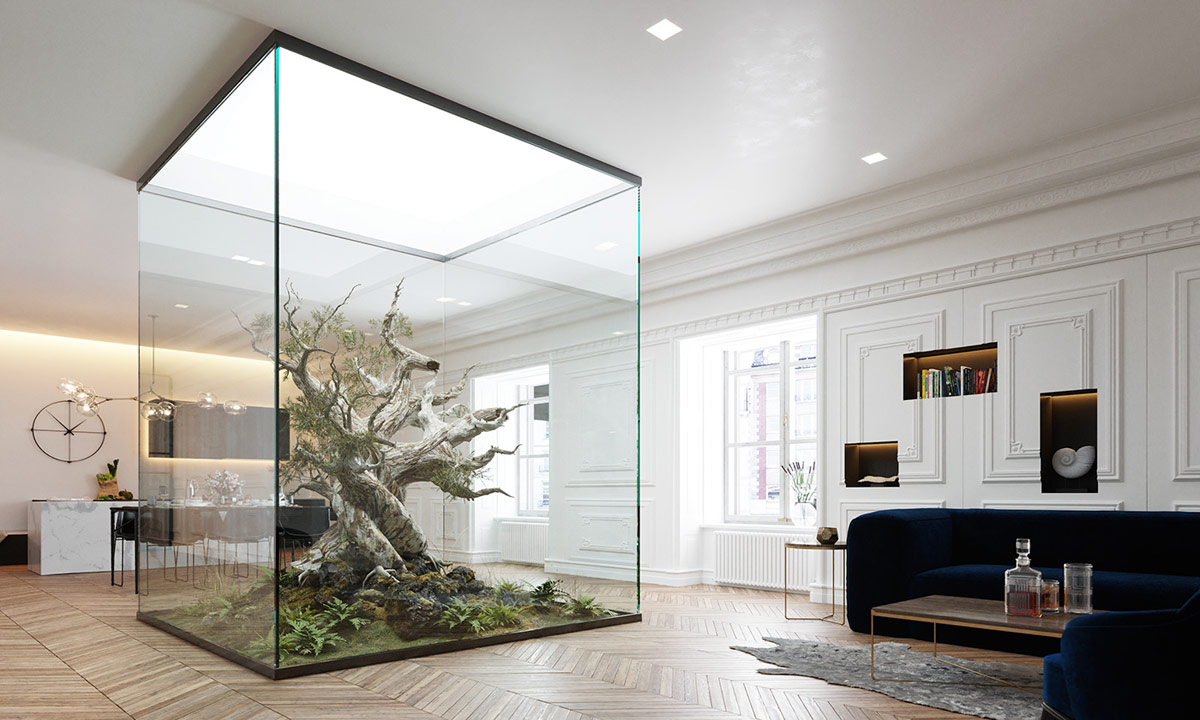 4 Homes That Feature Green Spaces Inside With Courtyards Terrariums