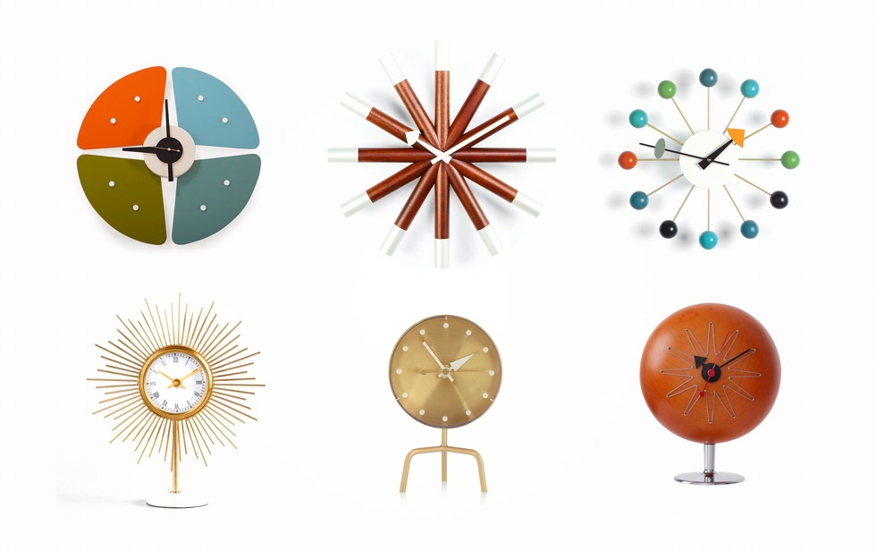 41 Mid Century Modern Clocks To Accessorize Your Wall, Desk, Or Mantel