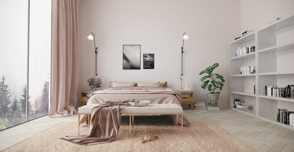 8 Pink Bedrooms With Images, Tips And Accessories To Help You ...