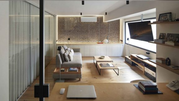 A Studio Loft Which Is A Home And Art Gallery