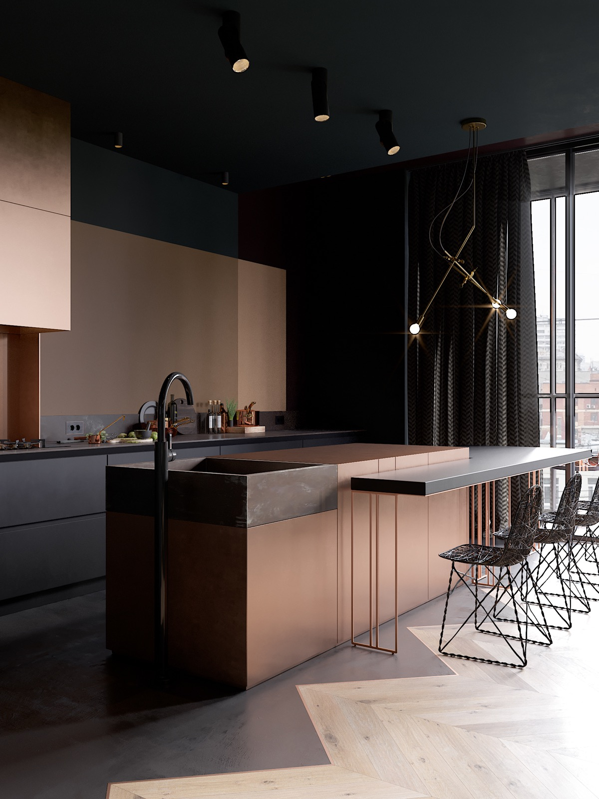36 Copper Kitchens With Images Tips And Accessories To Help