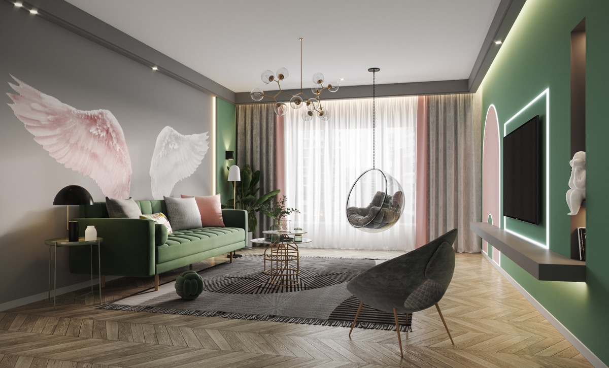 Swell 51 Pink Living Rooms With Tips Ideas And Accessories To Download Free Architecture Designs Scobabritishbridgeorg