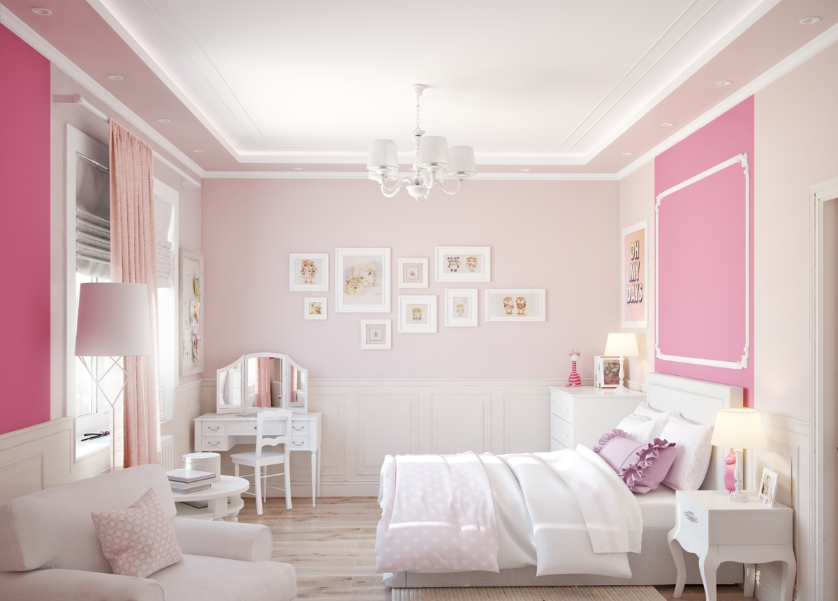 51 Pink Bedrooms With Images, Tips And Accessories To Help ...