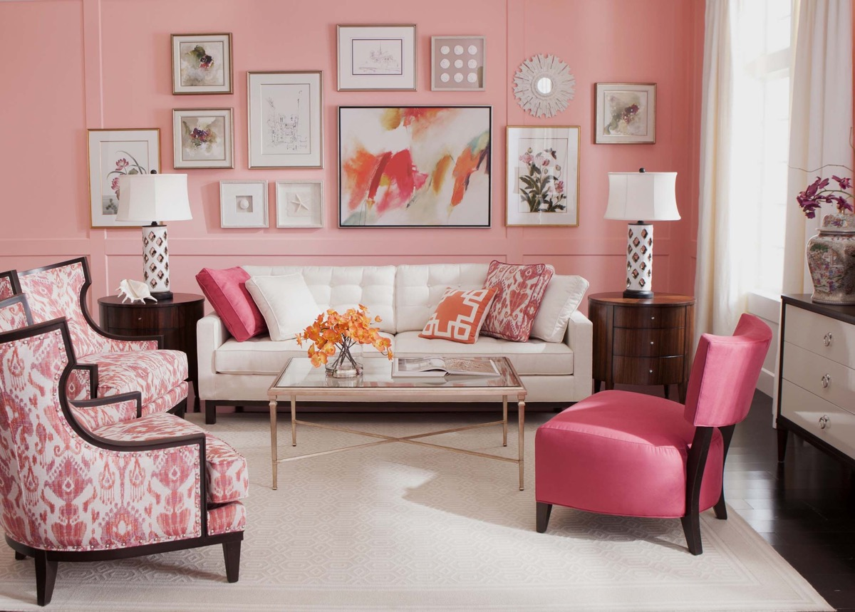 51 Pink Living Rooms With Tips, Ideas And Accessories To Help You Design Yours
