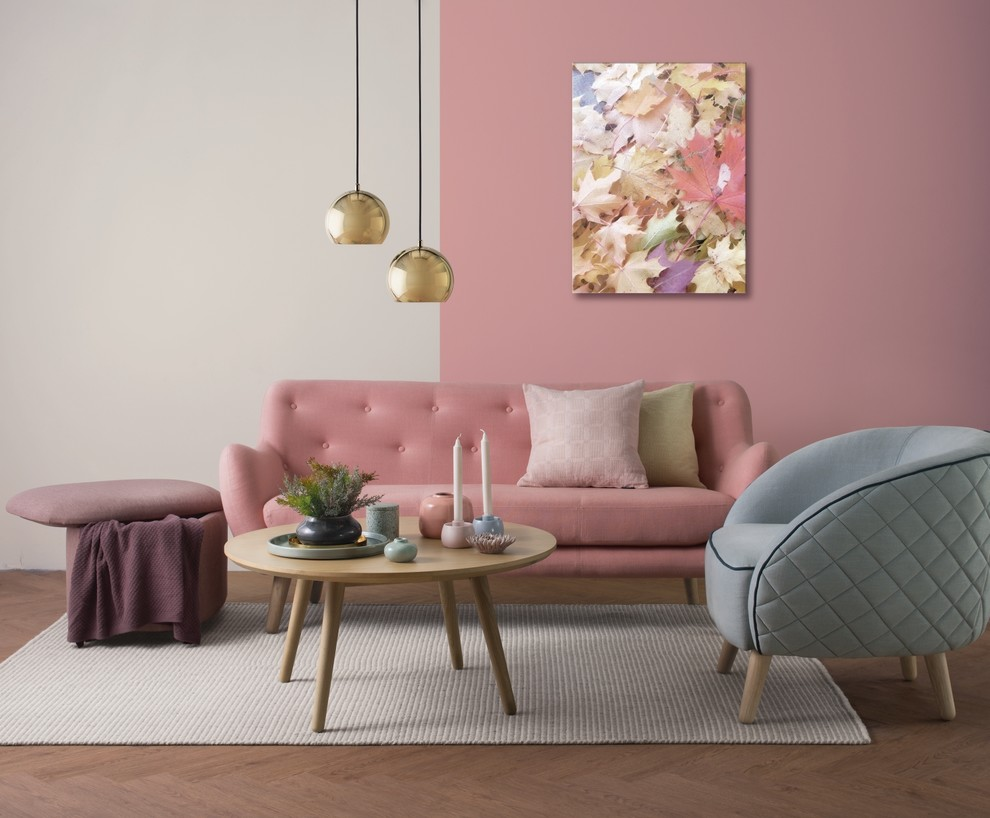 51 Pink Living Rooms With Tips, Ideas And Accessories To ...