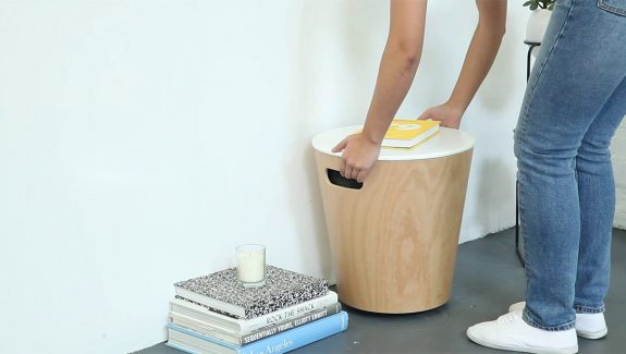 Product Of The Week: A Beautiful Storage Stool That Doubles Up As An Ottoman Or Side Table