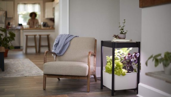 Product Of The Week: A Side Table With A Built In Hydroponic Planter