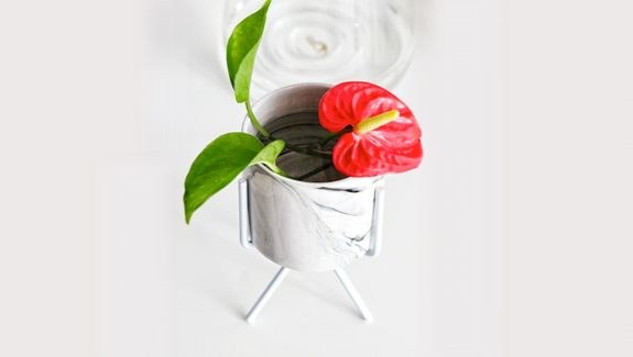 Product Of The Week: Beautiful Marble Finish Ceramic Flower Pots