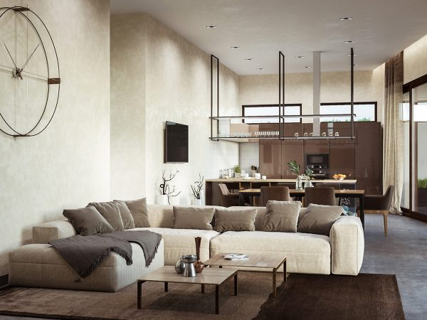 Coffee And Cream Interiors With A Swirl Of Sophisticated Style