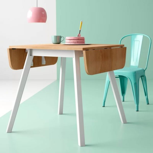 41 Drop Leaf Tables For Small Spaces With Big Style - How To Make A Fold Down Table