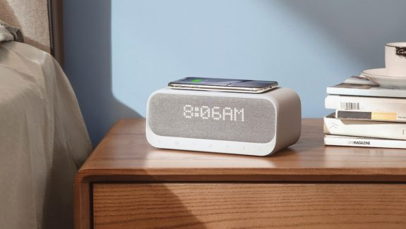Product Of The Week: Smart Wireless Charging Alarm Clock, Speaker And FM Radio