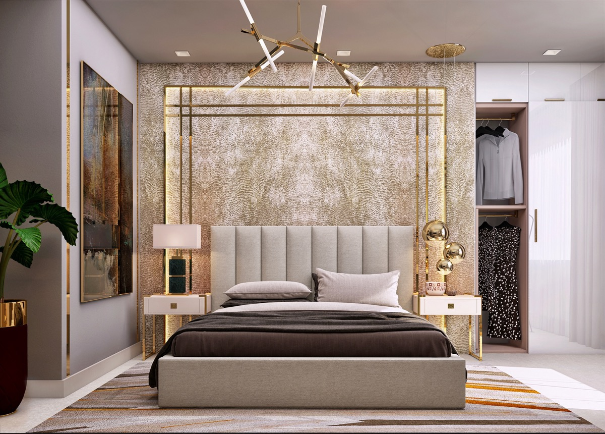 40 Transitional Bedrooms That Beautifully Bridge Modern And ...