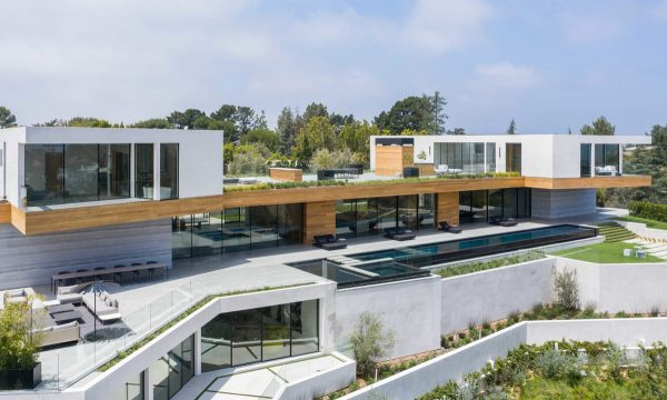 Luxury Property In Beverly Hills With Lap Pool And State Of The Art Movie Theatre