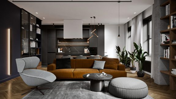 Colourful Modern Home Design Gives Each Room Individuality