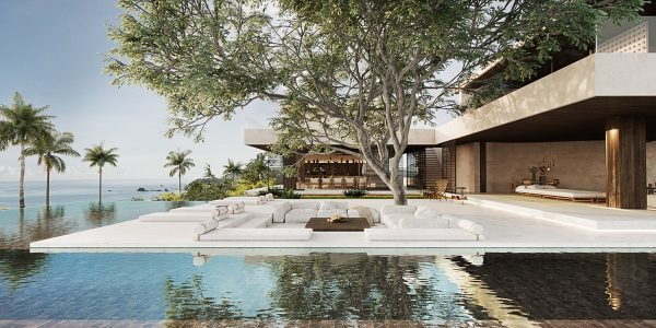 Three Indonesian Luxury Villas By The Sea