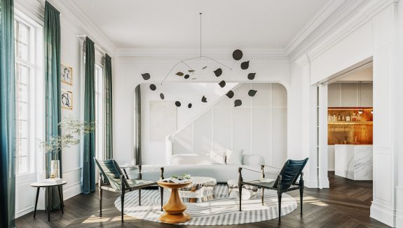 3 Ultra-Modern Takes on Neoclassical Interior Inspiration