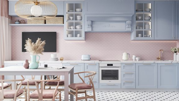 Pastel Coloured Interior With A Sweet Sense Of Fun