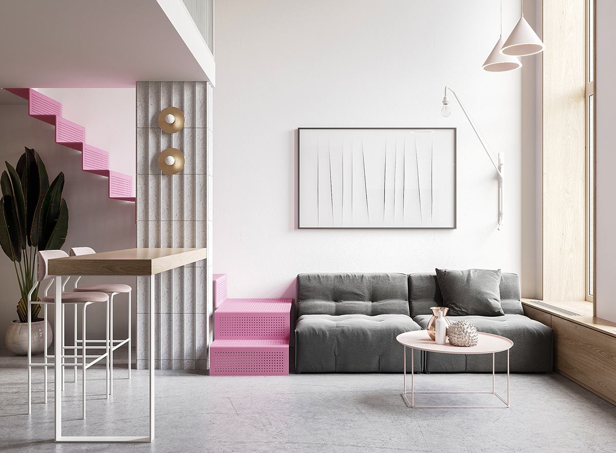 Small Interiors Under 70 Sqm That Will Have You Tickled Pink ...