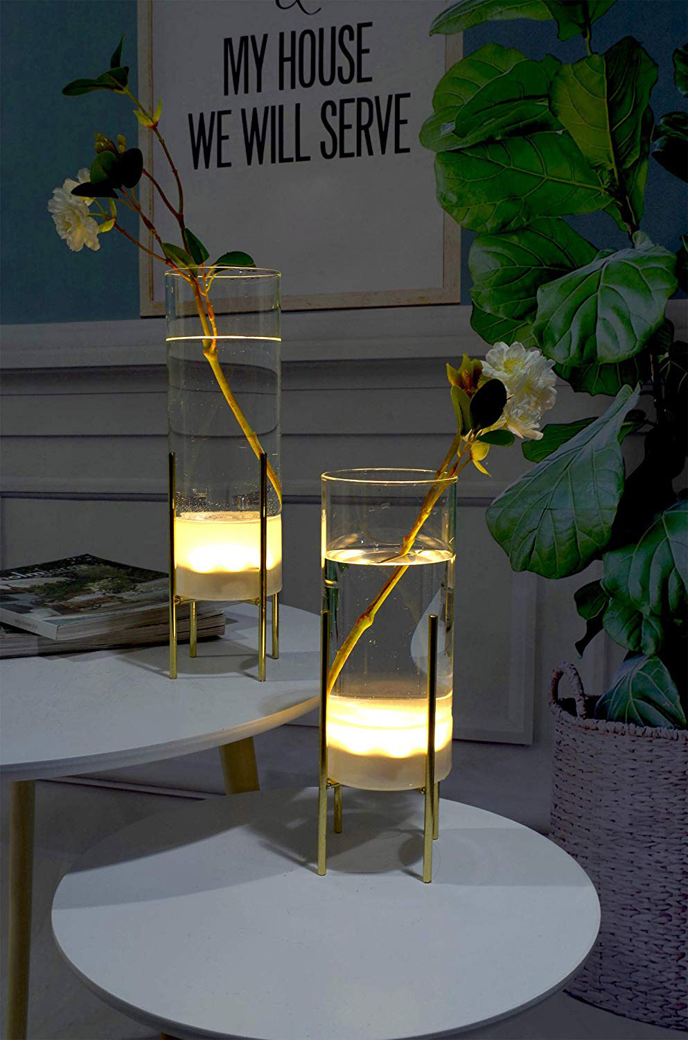 Product Of The Week: Modern Illuminated Glass Vases