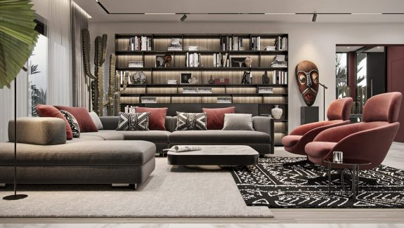 Modern Ethnic Interior Design With Afro Vibes