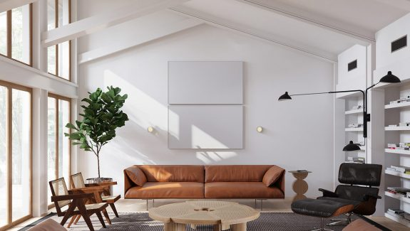 A Mesmerising Marriage Of Mid Century And Minimalism