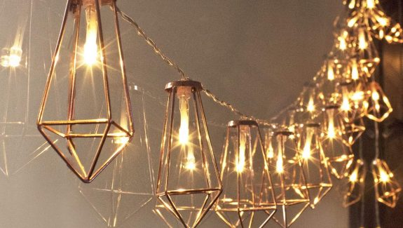 Product Of The Week: Beautiful Caged String Lights