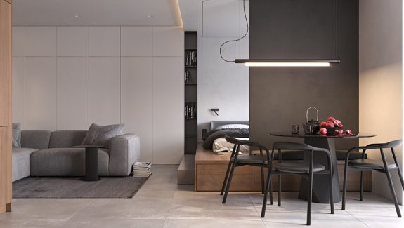 Space-Saving Small Studio Styling In Under 45 Square Metres