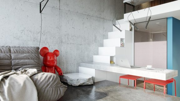 Two Tiny Apartments Stacked With Stylish Features