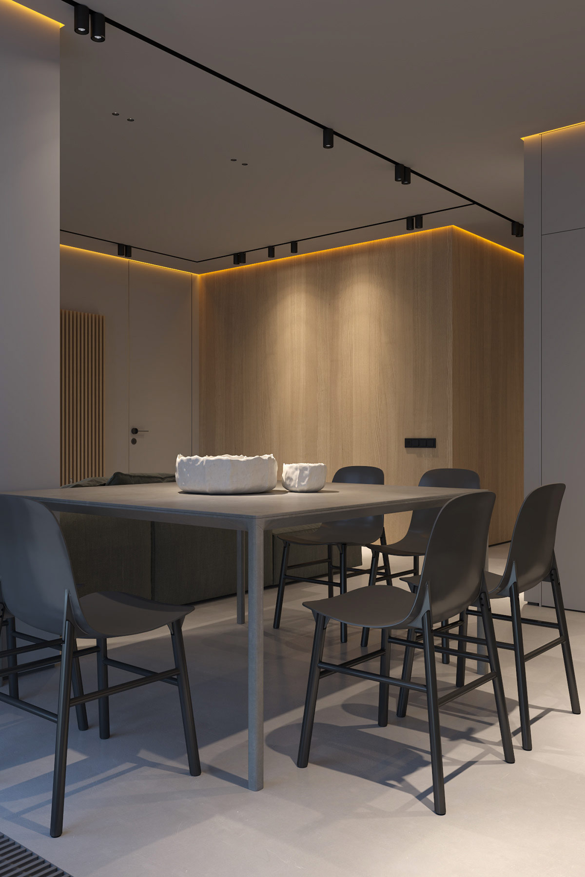How To Light A Minimalist Interior With Single Circuit Tracks Strips