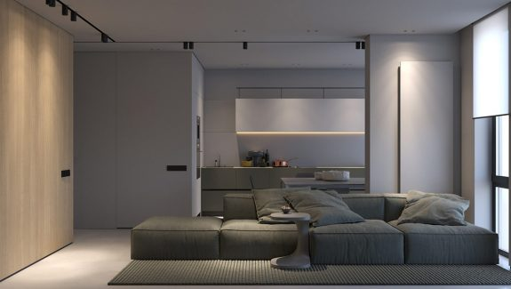 How To Light A Minimalist Interior With Single Circuit Tracks & Strips