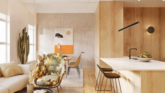 Styling Modern One Bed Apartments Under 80 Square Metres (With Floor Plans)
