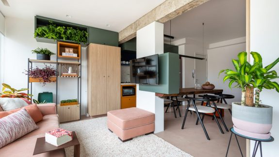 Colourful Apartments That Are Popping With Homeowner Personality [Includes Floor Plans]