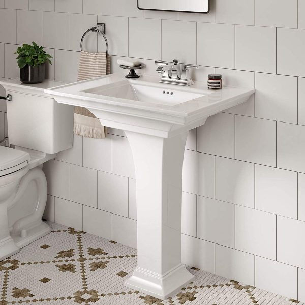 Home Design Ideas and Tips: stylish american standard pedestal sink for classic bathroom themes