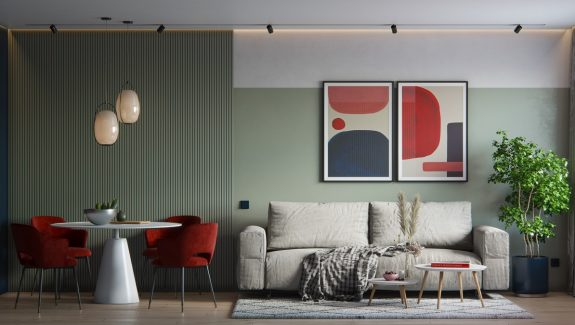 4 Interiors That Show How To Use Red And Green In A Non-Clashing Way