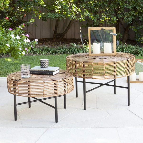 Sofa Back Wall Design, 51 Outdoor Coffee Tables To Center Your Stylish Patio Arrangement