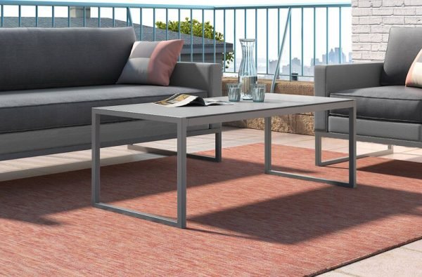 Home Design Ideas and Tips: grey metal outdoor coffee table modern patio furniture design inspiration