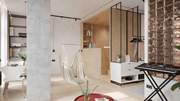 Small Spaces With Exclusive Colour Accents