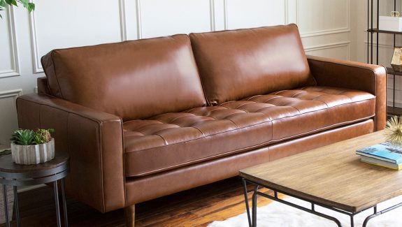 51 Leather Sofas To Add Effortless Refinement To Any Home