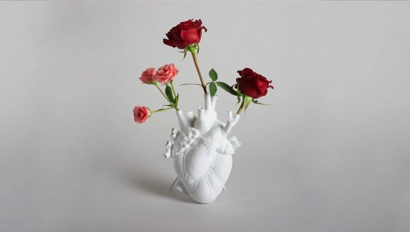 Product Of The Week: A Flower Vase Shaped Like The Human Heart