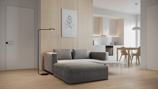 Relaxed Spaces With Minimalist Vibes