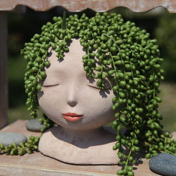 Product Of The Week: A Cool Head Shaped Planter