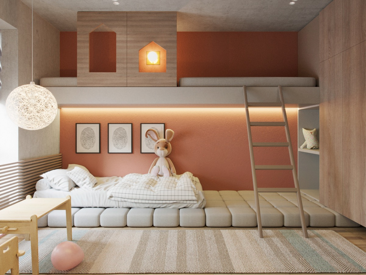 51 Modern Kid S Room Ideas With Tips Accessories To Help You Design Yours