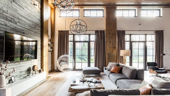 Rich & Rustic Home Interiors That Ooze Rural Allure
