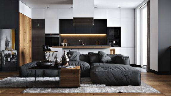 Versatile Black and White Decor