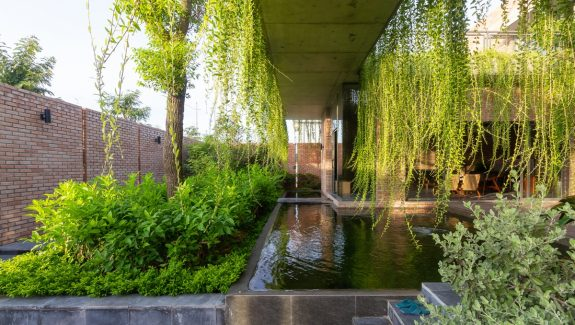 The Green Curtain House In Vietnam