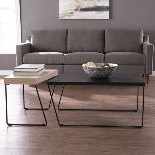 51 Small Coffee Tables To Fit Any Living Space Layout - Small Black Metal Rectangle Side Table