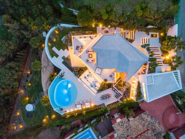 State Of The Art Spanish Villa With Panoramic Views