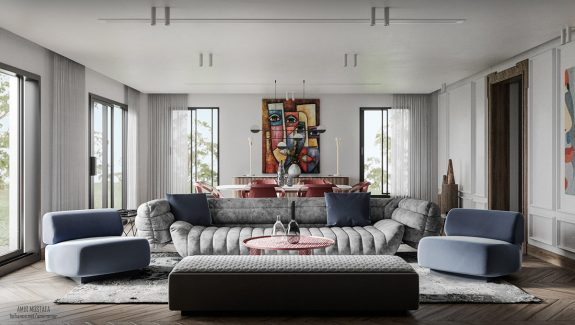 Artistic Living Spaces for Creative People